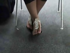 Foot Fetish Asian Glasses Toes FF24