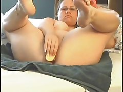 Squirt with dildo