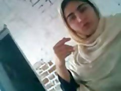 Paki Hijab Bitch Lahore fucked and talking after