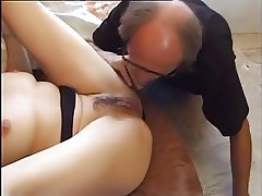 Older Dude Fucks a Much Younger Girl