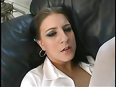 Naughty schoolgirl assfucked and creampied