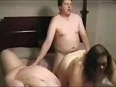 Two BBWs Taking On a Cock