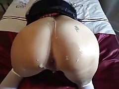 Amateur Beauty Assfucked POV