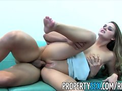 PropertySex - Naughty realtor Abby Cross