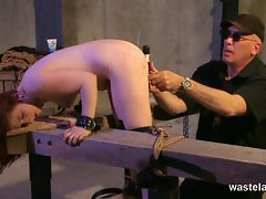 Torture session for hot slave girl