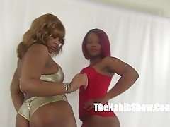 thick n sexylovers  lesbos golden and thick red