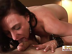 Hardcore Pussy And Anal Fuck With Mature Karen Cougar