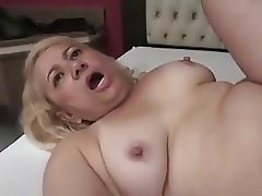 Granny Victoria Santos Fucked in the Ass by Young Boy