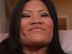 Asian hooker working the dudes cock so perfectly