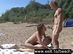 Public FMM on the Nude Beach