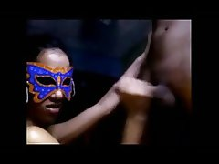 Indian masked swingers party