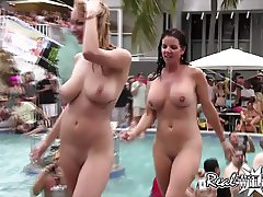 Raunchy Pool Pussy Party