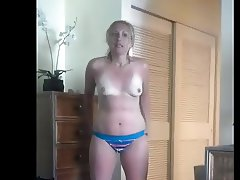 Hot Wife out of shower