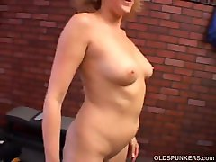 Dana Devine is a horny old spunker