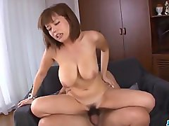 Cum on her hairy pussy after a massive
