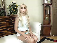 Teen Elsa Jean Cum on Hand