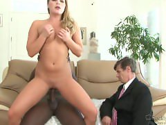 Aurora Snow Pervert Wife WIth Black Man