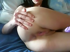 Plump white smooth booty of an amateur girl