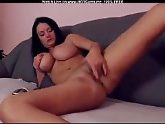 Hot Serbian With Big Boobs Fingering