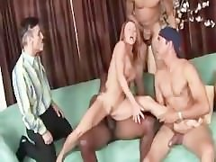 Janet Mason - Husband Watching Wife Gangbanged by blacks guys