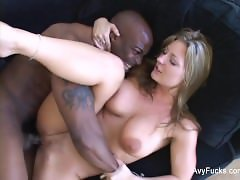 Busty MILF Avy Scott gets some black cock