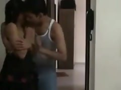 Desi Indian Young Couple Enjoy Fuck In Her Room-Mms