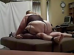 SSBBW Curvy pussy Rides Like a Domme Him Until He Busts