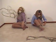 Two witnesses to disappear Pantyhose bondage