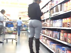Phat Ass Donk Spandex - She's Lovin' It!