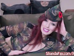 Shanda Fay gets Fucked for the Soldiers!