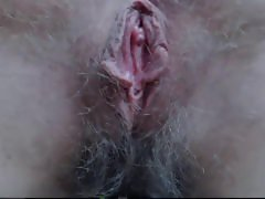 Very Cute Hairy Blonde Pussy 2