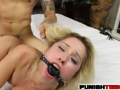 Goldie Rush gets is a Punished Teen