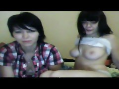 caugth to dina saunina webcam 4