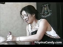 Filipina Candy Presents - Morning Hand Job