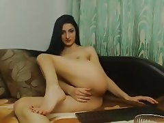 littlegirl25 mfc webcam playing with dildo