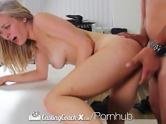 CastingCouch-X - Amateur Alli Rae begs for a messy facial