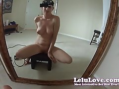 Lelu Love-Cum Ride Sybian From My POV