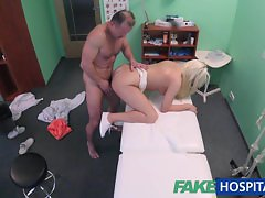 FakeHospital Doctor gets blondes pussy wet