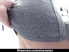 ShesNew - Sexy First Timer Fucked Like A Pro