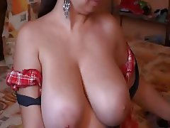 Big tits beautiful latina