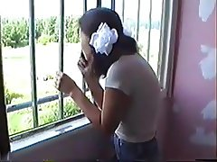 STP Stepdaughter Gets Fucked For Having A Cigarette !