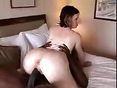 White Girl taking Huge BBC