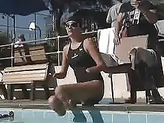 quad girl swimming
