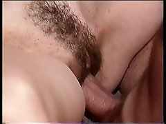 Brunette chick gets her pussy pounded