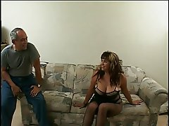 2 dudes take on a horny chick