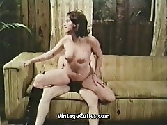 Cock-addicted Girl Needs to Have Sex (1970s Vintage)