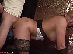 Euro amateur swinger party with slutty Big Tits MILF Kitty