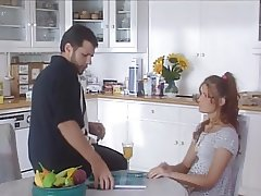 Young french cuttie gets fucked