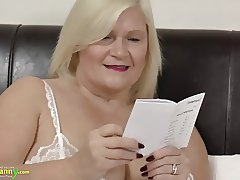 OldNanny mature Lacey Star bought new sex doll