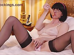 Julia The Naughty Schoolgirl And My Squirting Dildo